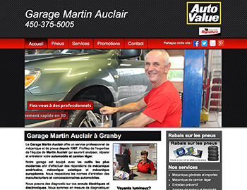 Garage Martin Auclair Granby